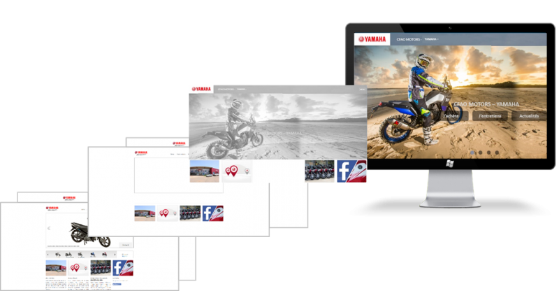 Nouveau site Web Yamaha!!
